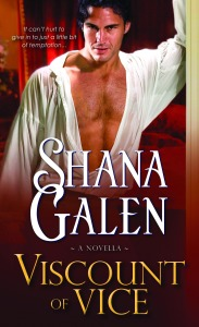 %name Discover the world of Covent Garden Cubs, a new series from Shana Galen. Its time to meet the Viscount of Vice!