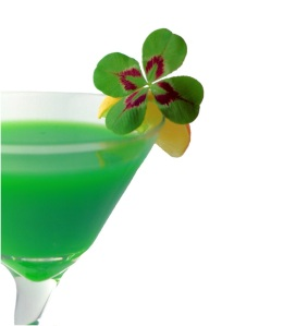 Untitled shamrock drink