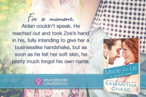 %name Samantha Chase Blitz Day 3   Made For Us   Review, Excerpt and Giveaway
