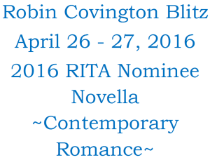 %name Coffee With 2016 RITA Novella finalist USA Today Best Selling Author Robin Covington