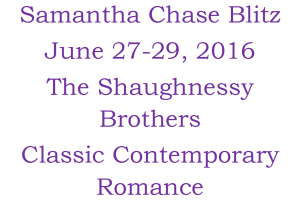 Samantha Chase Blitz June 2016