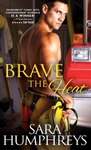 %name Sara Humphreys Blitz: Day 2 Brave the Heat   Review & 8 Tantalizing Tidbits!